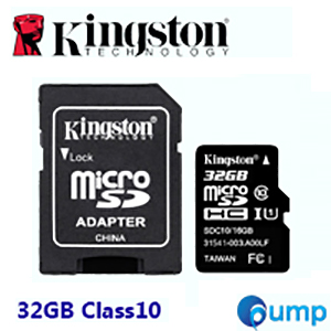 Kingston Micro SD Card 32GB Class 10