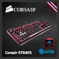 จำหน่าย-ขาย Corsair STRAFE Mechanical Gaming Keyboard - Cherry MX Blue (Key-Thai)