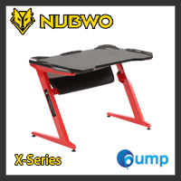 จำหน่าย-ขาย NUBWO X-Series Commander Gaming Desk - Red