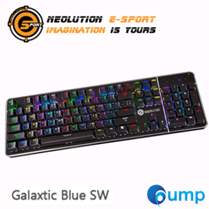 Neolution E-Sport Galaxtic Mechanical Gaming Keyboard - Blue SW