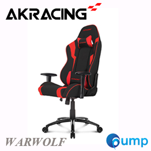 AKRacing Warwolf Gaming Chair - Red