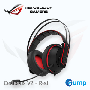 ASUS Cerberus V2 gaming headset - Red