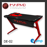MARVO Scorpion Gaming Desk Table With Racing LED Light