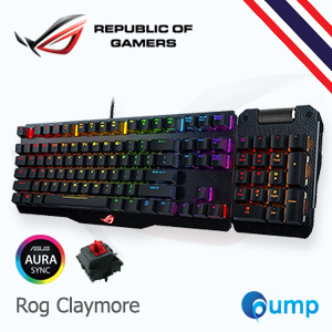 จำหน่าย-ขาย ASUS ROG Claymore RGB Cherry MX Red Mechanical Gaming Keyboard (Key-Thai)