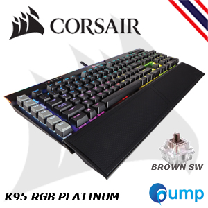 จำหน่าย-ขาย Promotion Sale!! - Corsair K95 RGB PLATINUM Mechanical Gaming Keyboard — Cherry MX Brown  (Thai Layout)