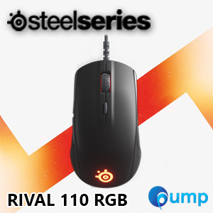 จำหน่าย-ขาย Steelseries Rival 110 RGB Gaming Mouse (Black)