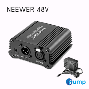 จำหน่าย-ขาย NEEWER 48 Volt Phantom Power Supply For 48V XLR Condenser Microphones