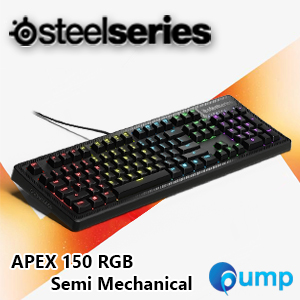SteelSeries Apex 150 RGB Semi Mechanical Gaming Keyboard [Key-Eng]