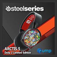 จำหน่าย-ขาย SteelSeries Arctis 5 DOTA 2 Limited Edition Wired 7.1 RGB Surround Sound Gaming Headset