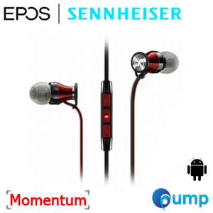 Promotion - Sennheiser M2 Momentum In-Ear Black-Red (For Android)