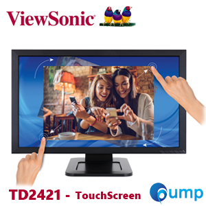 "ViewSonic TD2421 24 (23.6"" Viewable) Full HD Optical Touch Monitor"