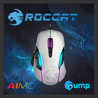 จำหน่าย-ขาย Roccat Kone Aimo Gaming Mouse - White