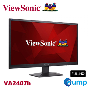 "ViewSonic VA2407h 24"" Full HD LED monitor with HDMI connectivity"