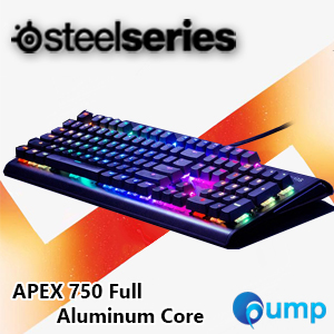 จำหน่าย-ขาย SteelSeries Apex M750 Aluminum Core Mechanical Esports Keyboard - Switch Red QX2