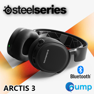 จำหน่าย-ขาย SteelSeries Arctis 3 Bluetooth Wired for Gaming - Bluetooth for Life