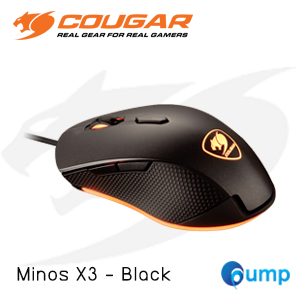 จำหน่าย-ขาย Cougar Minos X3 Optical Gaming Mouse - Black