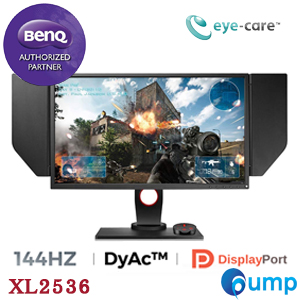 จำหน่าย-ขาย BenQ ZOWIE XL2536 144Hz 24.5 inch e-Sports Gaming Monitor - DyAc Technology