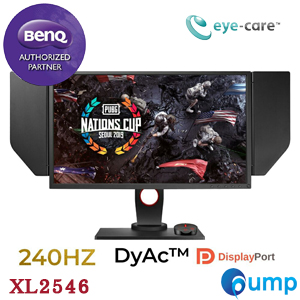 จำหน่าย-ขาย BenQ ZOWIE XL2546 240Hz 24.5 inch LED Gaming Monitor - DyAc Technology