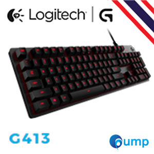 Logitech G413 Carbon Mechanical Backlit Gaming Keyboard - Key TH
