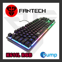 จำหน่าย-ขาย Fantech K611L Fighter TKL RGB (tenkeyless) Backlit Membrane Gaming Keyboard