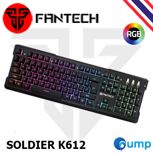 จำหน่าย-ขาย Fantech SOLDIER K612 RGB Gaming Keyboard
