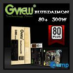 จำหน่าย-ขาย Power Supply Gview Blue Diamond 80+ 500 Watt