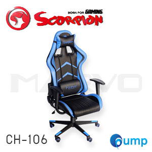 Marvo Scorpion CH-106 Ergonomic Gaming Chair - Blue