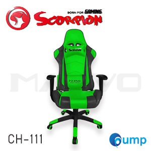 Marvo Scorpion CH-111 Adjustable ,Ergonomic Advanced Gaming Chair - Green แถมลำโพง Marvo SG112
