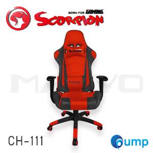Marvo Scorpion CH-111 Adjustable ,Ergonomic Advanced Gaming Chair - Red แถมลำโพง Marvo SG112