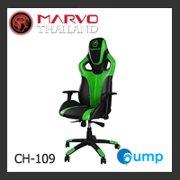Marvo Scorpion CH-109 Adjustable, Ergonomic Gaming Chair - Green