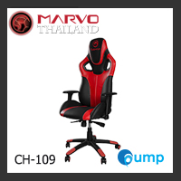 Marvo Scorpion CH-109 Adjustable, Ergonomic Gaming Chair - Red