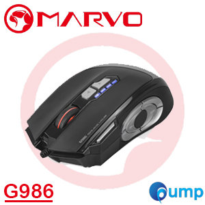 Marvo G986 MMO/Moba, Programmable Advanced Gaming Mousse