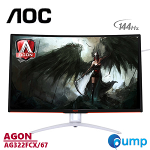 AOC AG322FCX Curved LED AGON 144hz Gaming Monitor 31.5