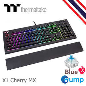 จำหน่าย-ขาย TT Premium X1 RGB Cherry MX Blue Mechanical Keyboard - Key TH
