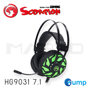 จำหน่าย-ขาย Marvo Scorpion HG9031 7.1 USB Surround Sound Advanced Gaming Headphone