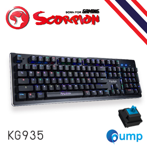 จำหน่าย-ขาย Marvo Scorpion KG935 Blue Switch RGB ฺBacklighted Mechanical Keyboard - Key TH