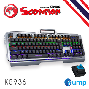 จำหน่าย-ขาย Marvo KG936 RGB Backlti Blue Switch Gaming Keyboard - Key TH