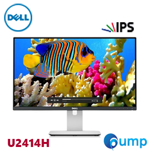 Dell U2414H UltraSharp 24 Full HD IPS Monitor