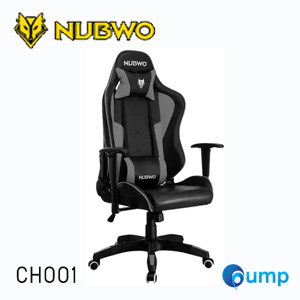 Nubwo CH001 Gaming Chair - ฺBlack / Grey