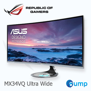 จำหน่าย-ขาย ASUS MX34VQ Ultra-wide Curved Monitor - 34 inch