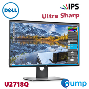 Dell U2718Q 27-Inch UltraSharp 4K IPS Screen LED-Lit Monitor