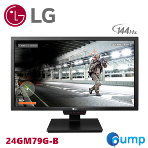 LG 24GM79G-B: 24 Class Full HD 144Hz FREE-SYNC Gaming Monitor