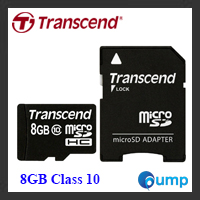จำหน่าย-ขาย Transcend SD Card 8GB Class 10 (Premium)