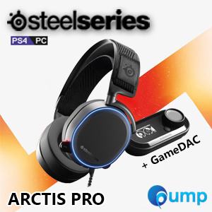 จำหน่าย-ขาย SteelSeries Arctis Pro RGB 7.1 Surround Sound + GameDAC AudioMix Gaming Headset