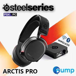 SteelSeries Arctis Pro Dual Wireless & Bluetooth DTS X 7.1 v2.0 Surround Sound Gaming Headset