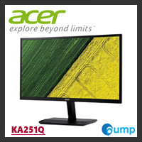 Acer - KA251Q 24.5-inch 16:9 Widescreen MonitorKA251Q 24.5-inch 16:9 Widescreen Monitor, ZeroFrame, BluelightShield, Flicker-less