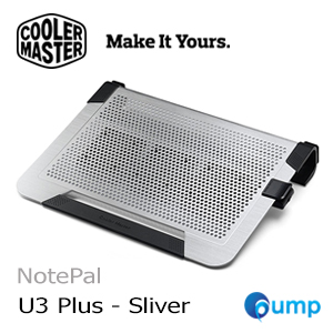 จำหน่าย-ขาย Cooler Master NotePal U3 Plus - Silver