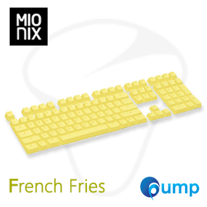 จำหน่าย-ขาย Mionix Keycaps French Fries US Layout - Yellow
