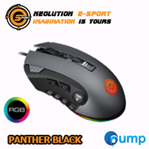 จำหน่าย-ขาย Neolution E-Sport PANTHER Programmable RGB Gaming Mouse - Black
