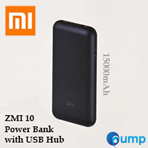 Xiaomi ZMI 10 Power Bank with USB Hub (15000mAh)